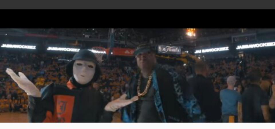 JABBAWOCKEEZ at the NBA Finals 2017 | National Black Buzz